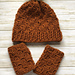 Acorn Hat and Fingerless Mitts pattern