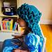 Crochet Mother Dragon Hat pattern