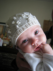 My mommy knit me this hat