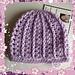 Girly Preemie/Newborn Hat pattern