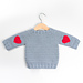 Red Heart Baby Sweater pattern