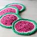 Watermelon Coasters pattern