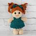 Rachel Girl Doll Tamingo pattern