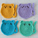 Cat Coasters pattern