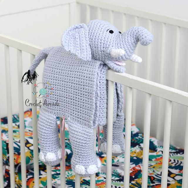 Ravelry Cuddle And Play Elephant Baby Blanket Pattern By Aneta Izabela