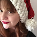 Chunky 'Knit' Santa Hat pattern