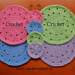 Round Placemat pattern