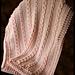 Pebble Creek Afghan pattern