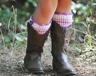 Ravelry: Kid Luvin' Boot Cuffs pattern