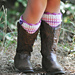 Kid Luvin' Boot Cuffs pattern