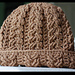 Windswept Cable Hat pattern