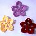 Tropical Flower Applique pattern