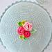 My Rose Cushion pattern
