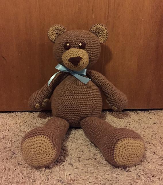 Lovely Teddy Bear Amigurumi - Tutorial #amigurumi #crochet ...   640x567