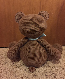 Free Teddy Bear crochet pattern - Amigurumi Today | 320x262