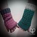 EMS Unisex Fingerless Gloves pattern