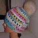 Bronson Hat with faux pom pom pattern