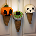 Halloween I Scream Cones pattern