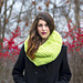 Chunky Lime Cowl pattern