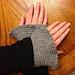 Pretty Picot Wristlets pattern