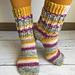 Socks Janis Joplin pattern