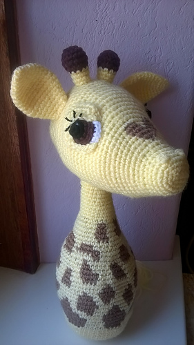 Cute Baby Giraffe pattern by Heather Kumpf | Giraffe crochet ... | 500x281
