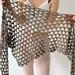 Tri tra triangle shawl pattern