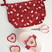 Heart lunchbox strap pattern