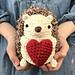 Hedgehog in Love pattern