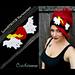 LoveSTRUCK Valentine's Earwarmer/Headband pattern
