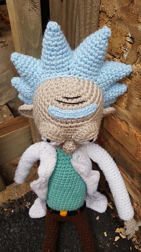 PATTERN Rick sanchez lookalike amigurumi pattern pdf crochet   Etsy   500x281