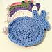 Easter Bunny Coasters pattern