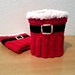 Santa Boot Cuffs pattern