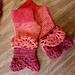 Romancing the Fan Fingerless Gloves pattern