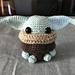 Chibi Baby Alien pattern