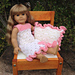Lacy Nightgown and Pillow Doll Set pattern