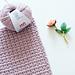 Super zachte deken pattern