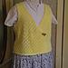 Lace Crossover Vest pattern