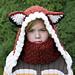 Fox Hood and Cowl pattern