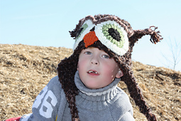Fast and Easy Crochet Owl Hat