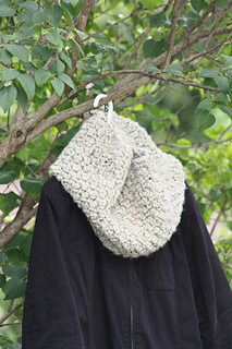 Chunky Textured Crochet Cowl