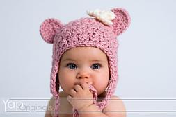 Crochet Buddy Bear Hat