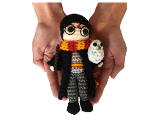 Free Amigurumi Harry Potter patterns including Hermione, Harry ... | 257x320