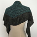 Pleated Lattice Shawl pattern