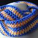 Sunset Crochet Cowl pattern