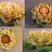 Tealight Lotus pattern
