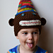 Party Monkey Hat pattern