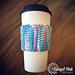 Tunisian Coffee Cup Cozy pattern