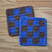 Square Tile Coasters pattern