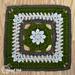 Vintage Garden Afghan Square pattern